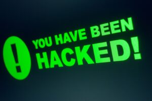 you've been hacked image